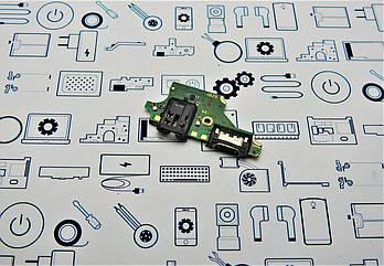 Б.У. Плата Huawei P20 Lite (ANE-LX1) нижняя с разьемами наушников и зарядки Оригинал