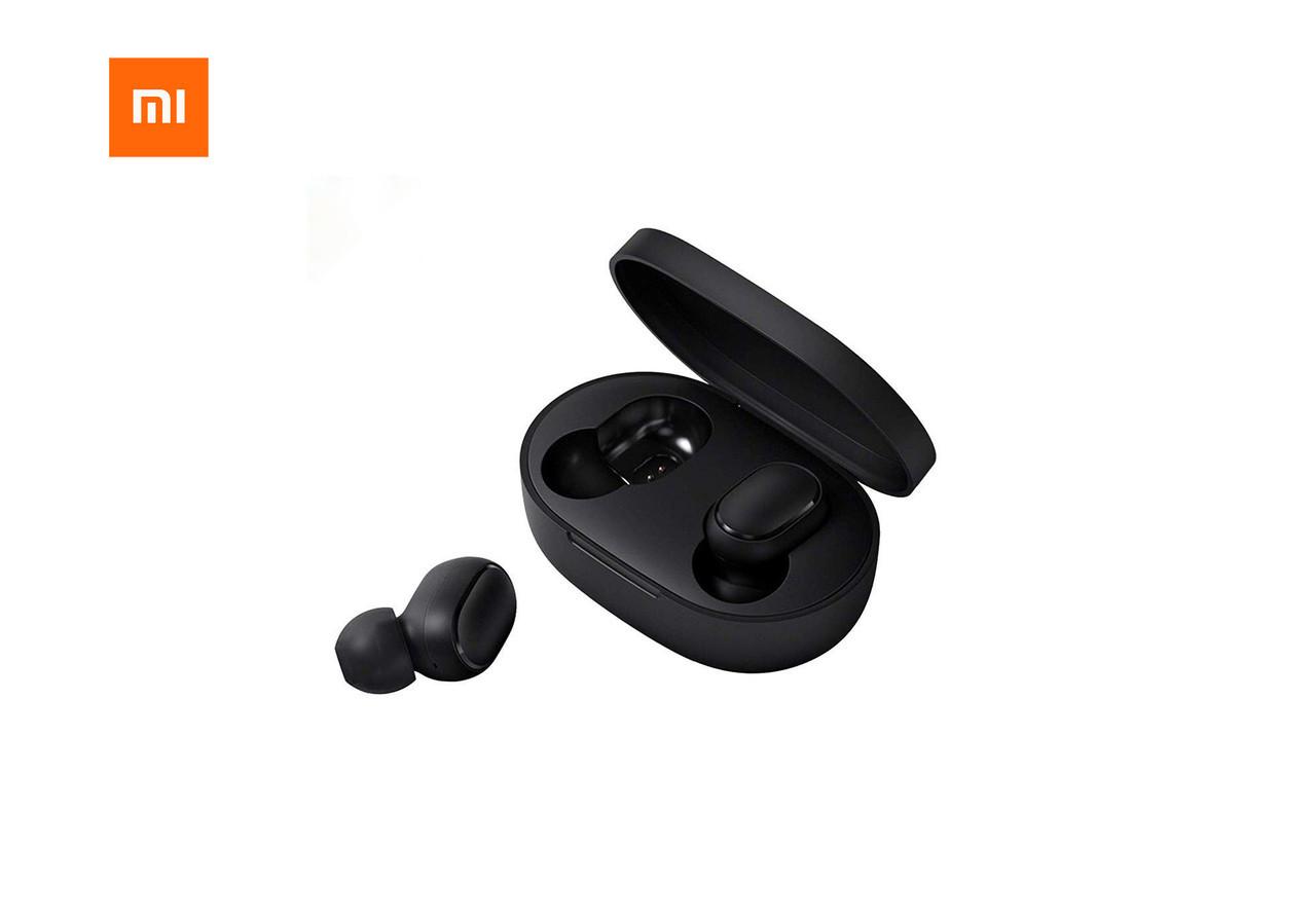 Беспроводные наушники Xiaomi Redmi Airdots TWS Black (QT-RedmiAirdots)