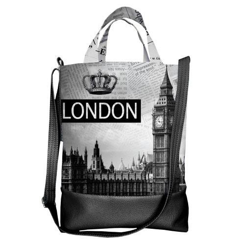 Городская сумка City Лондон (SCB_14S038_BL)