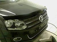 Дефлектор капота (мухобойка) Volkswagen AMAROK 2010-