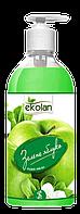 Рідке мило SeLan EcoLan дозатор Зелене Яблуко 0.5 л