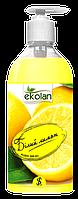 Рідке мило SeLan EcoLan дозатор Білий Лимон 0.5 л
