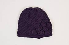 Стильний комплект з красивою шапочки і снуда Adela від Kamea., фото 2