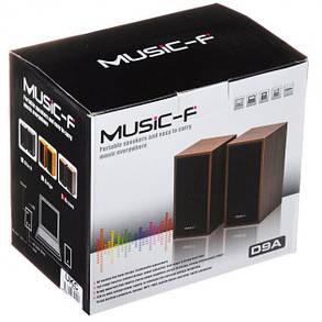 Якісна акустика для ПК, ноутбука, MP3 або MP4 плеєра Music-F D9А, фото 2