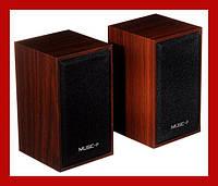 Качественная акустика для ПК, ноутбука, MP3 или MP4 плеера Music-F D9А