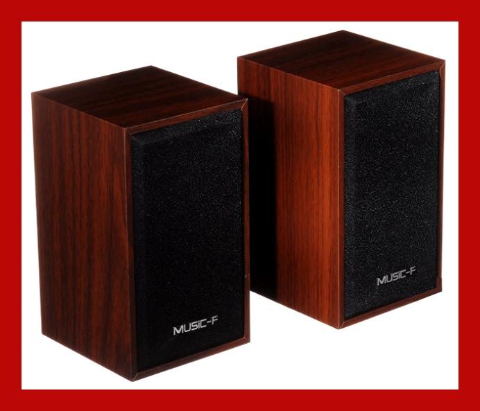 Якісна акустика для ПК, ноутбука, MP3 або MP4 плеєра Music-F D9А