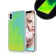 Чехол Neon Sand для Samsung J6+ Plus 2018 / J610 Green Yellow