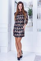 Платье пайетка 74316, фото 3