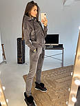 Женский и мужской велюровый костюм люкс качества в расцветках, фото 10
