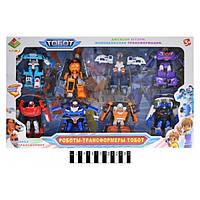 Набір трансформерів,Робот Тобот 8 героїв DT-339-8, Tobot