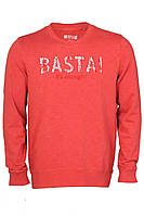 Свитшот красного цвета с принтом Basta от Mustang jeans в размере M