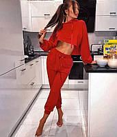 Женский костюм спортивный топ+брюки