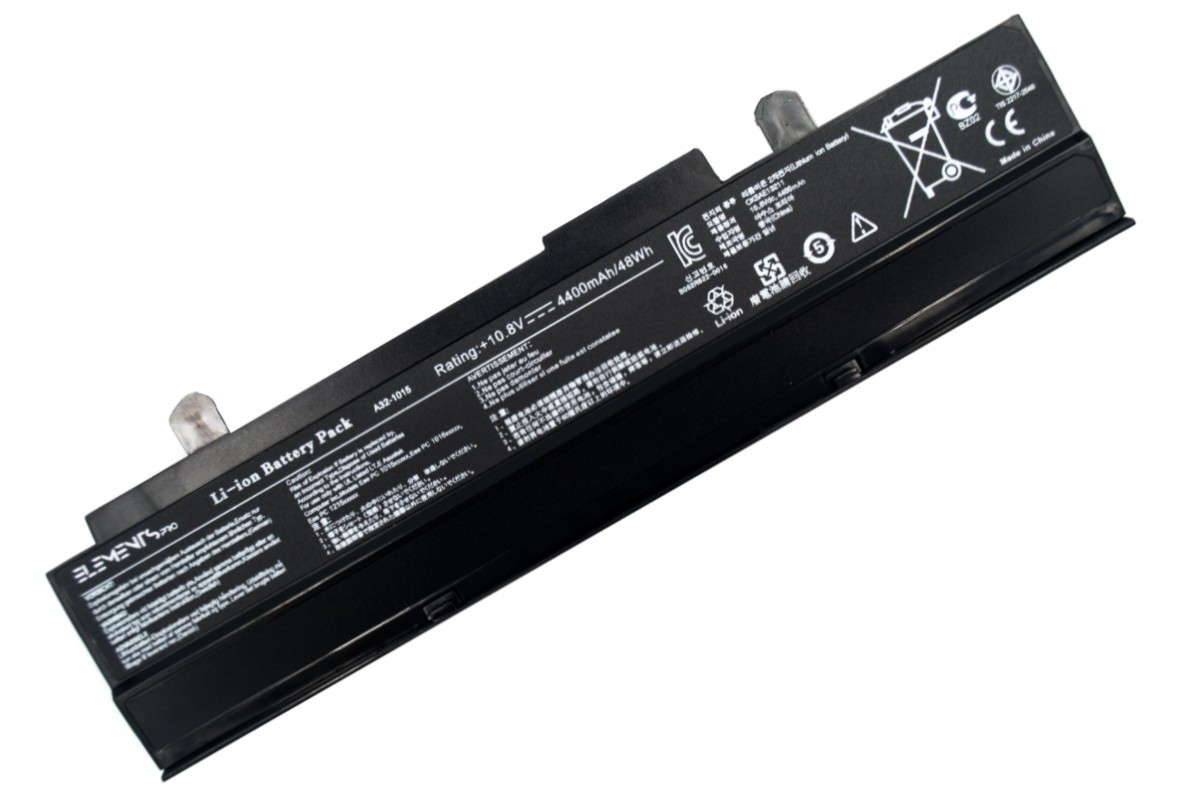 Батарея Elements PRO для Asus Eee PC 1015b 1015p 1016p 1215b 1215n 1215p 1215t vx6 10.8V 4400mAh (1015-T-3S2P-4400)