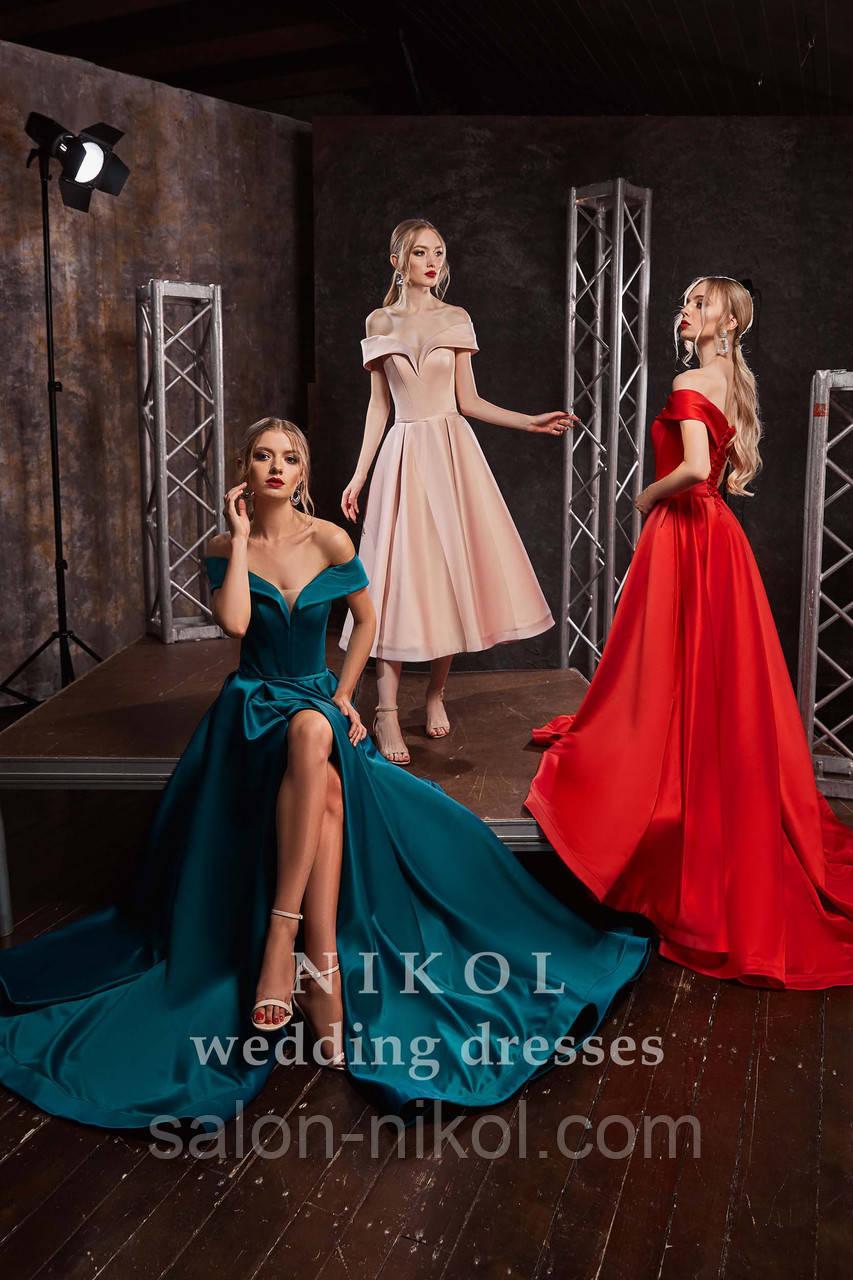 Вечернее, выпускное платье № V418