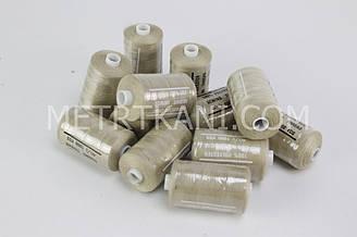 Нитки швейные 50/20 1000 ярдов, бежевого цвета  № N-1000-308