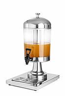 Диспенсер для соков и холодных напитков 8 л. настольный Hendi 425299