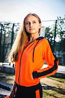 Молодежный спортивный костюм 7141 Zeta-m оранжевый