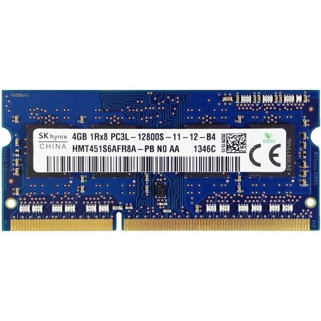Модуль памяти для ноутбука SoDIMM DDR3L 4GB 1600 MHz Hynix (HMT451S6AFR8A-PB)