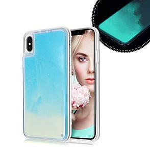 Чехол Neon Sand для Samsung Note 9  Blue Yellow, фото 2