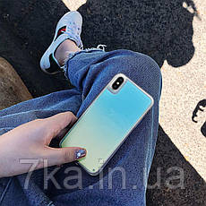 Чехол Neon Sand для Samsung Note 9  Blue Yellow, фото 3