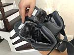 Мужские зимние кроссовки Puma (черно-белые), фото 5