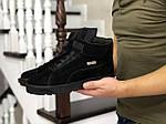 Мужские зимние кроссовки Puma (черные), фото 3