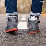 Мужские зимние кроссовки Nike Air Force Winter Grey (серые), фото 3