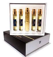 Подарочный набор мини-парфюмов унисекс Tom Ford Cafe Rosе 5в1