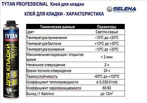 Клей-Піна для кладки газобетону TYTAN PROFESSIONAL, фото 2