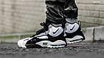 Мужские кроссовки Nike Sportswear Air Max Speed Turf (бело/черные), фото 5