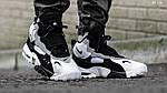 Мужские кроссовки Nike Sportswear Air Max Speed Turf (бело/черные), фото 8