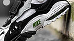 Мужские кроссовки Nike Sportswear Air Max Speed Turf (бело/черные), фото 9