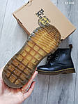 Демисезонные ботинки Dr. Martens (черные) - Унисекс, фото 2