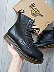Демисезонные ботинки Dr. Martens (черные) - Унисекс, фото 3