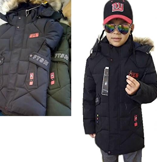 Куртка с наушниками 7-11 лет