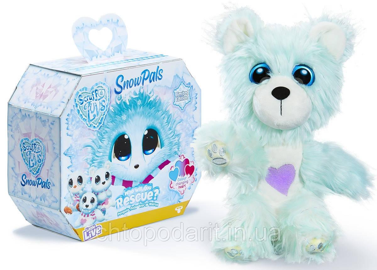 Пушистик потеряшка «Снежные друзья» игрушка сюрприз Scruff A Luvs Snow Pals