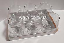Набор стеклянных бокалов для коньяка 240 мл 6 шт Vita Glass