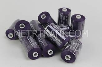 Нитки швейные 50/20 1000 ярдов,темно-фиолетового цвета  № N-1000-196