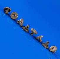 Комплект колес (8шт.) для корзины посудомоечной машины Electrolux 50286965004 Original