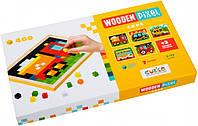 Дерев'яна піксельна мозаїка «Wooden mosaic 4» Cars, фото 1