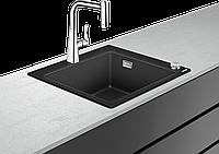 C51-F450-01 Кухонная мойка из гранита silicatec, со смесителем 450 Select для кухни, хром