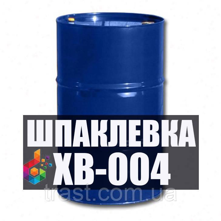 Шпаклевка ХВ-004 для исправления и выравнивания дефектов