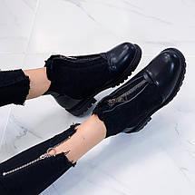 Стильные зимние ботинки женские, фото 3