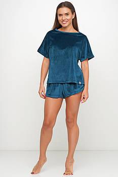 Красивая женская велюровая пижама