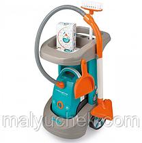Детский игровой набор тележка для уборки Smoby 330306