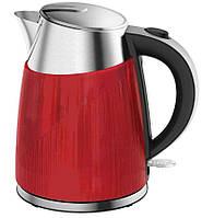 Чайник электрический красный Aurora 010AU