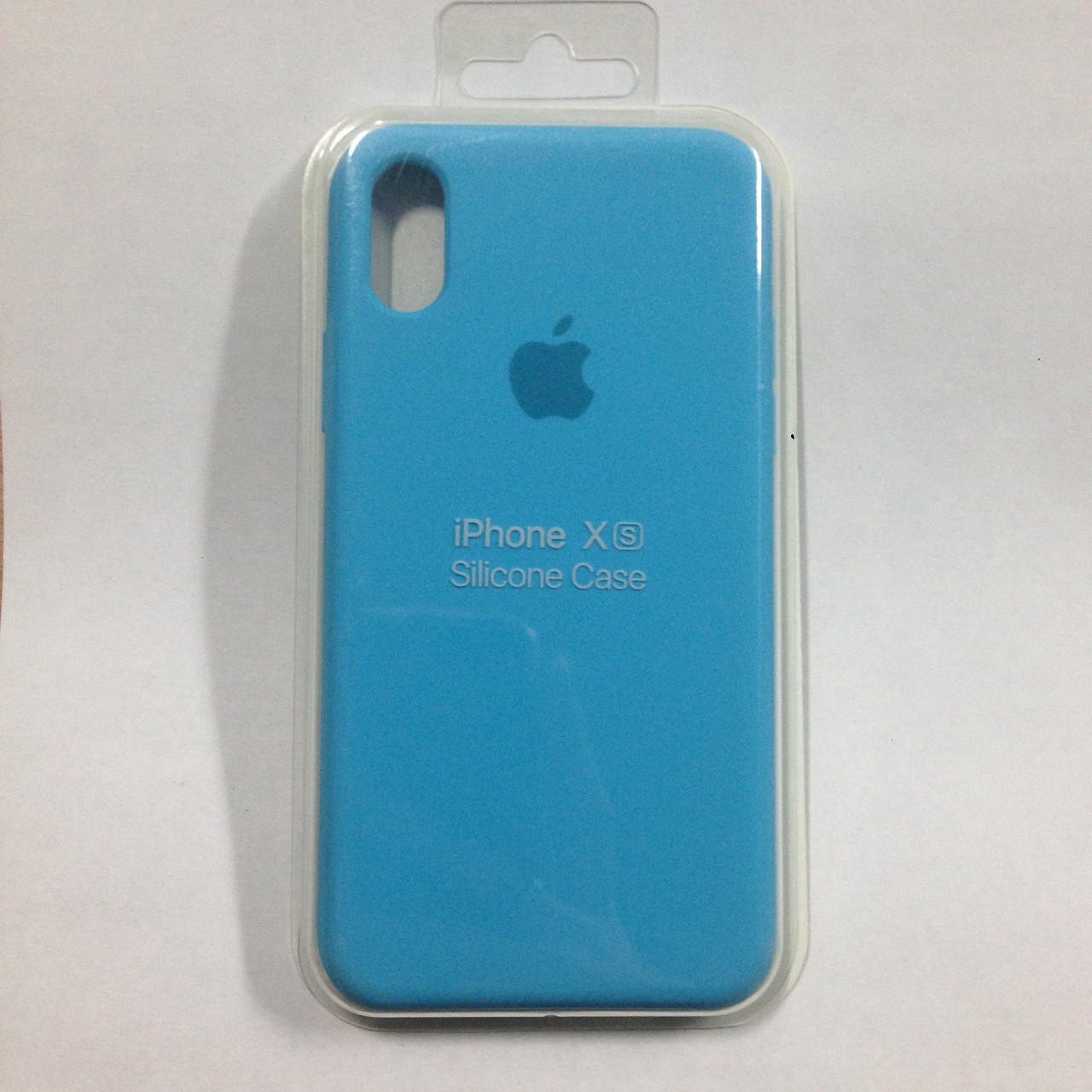Чехол для iPhone X/XS Silicone Royal Blue