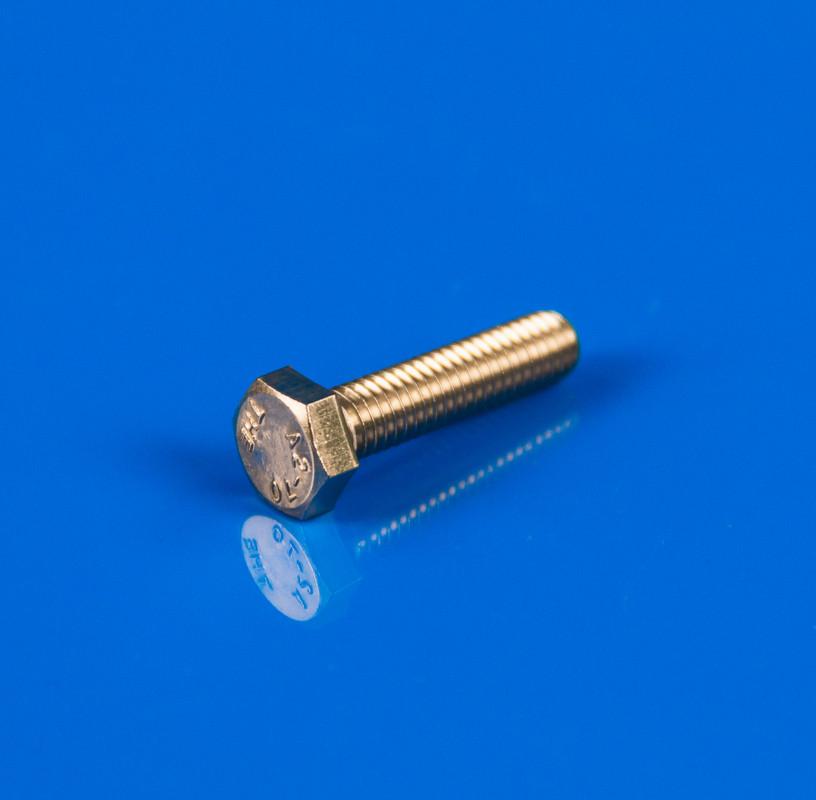 Болт М6x25 из нержавеющей стали DIN 933