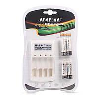 Зарядное устройство с АAА аккумуляторами (4 шт) Jiabao Digital Charger JB-212