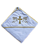 Полотенце для крещения с уголком 92*92  380г/м2 (TM Zeron), Турция